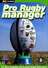 Digital Jesters Pro Rugby Manager 2004 PC
