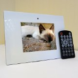 digizo 5.6` Digital Photo Frame White, 5.6 inch - FREE 2GB SD CARD product image