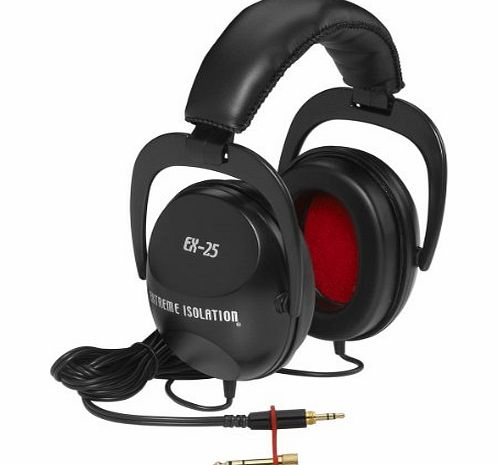 Direct Sound EX-25 Dynamic Extreme Isolation Stereo Headphones product image