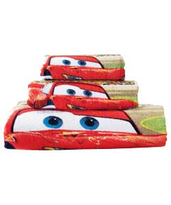 Cars 3 Piece Towel Set