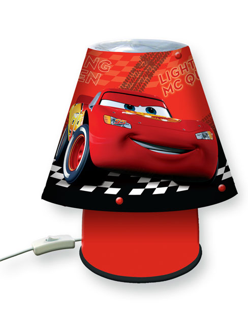 Disney Cars Bedside Kool Lamp Light
