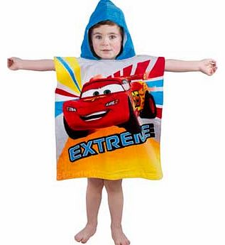 Cars Speed Poncho