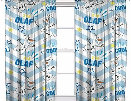 Disney character world 54-inch Disney Frozen Olaf Curtains