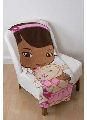 Doc McStuffins Hugs Fleece Blanket