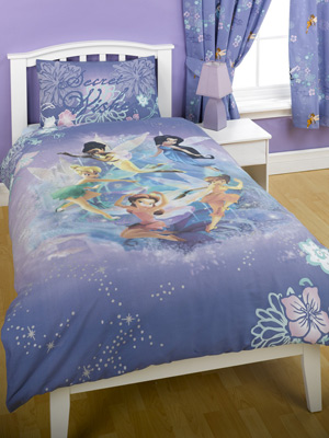 Fairies `ecret Wishes`Single Duvet Cover Set