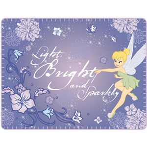 Fleece Blanket - Tinkerbell Sparkle
