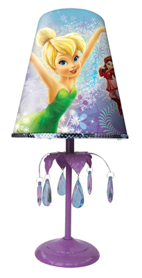 Fairies Premium Fabric Bedside Lamp