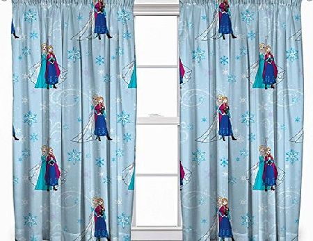 Disney Frozen LIGHTS 54-Inch Curtain Set
