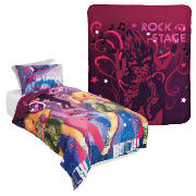 Hannah Montana Duvet & Fleece Set