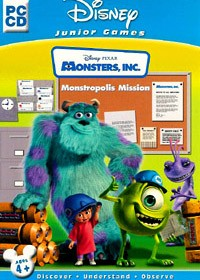 DISNEY Monsters Inc Monstropolis Mission PC