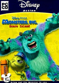 DISNEY Monsters Inc Scare Island PC