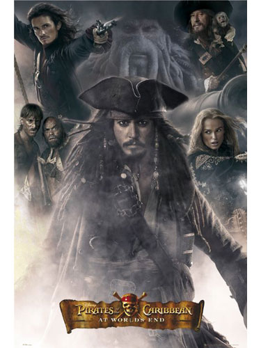 Pirates Of The Caribbean: At Worldand#39;s End Maxi Poster FP1786