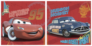 Pixar Cars Canvas Twin Pack Pictures