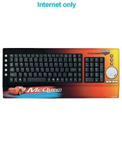 PIXAR Cars Multimedia Keyboard
