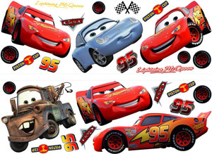 Pixar Cars Stikarounds