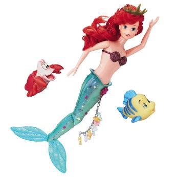 Poupées Disney-princess-ariel-swimming-doll