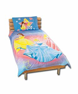 Princess Castle Single Duvet Set