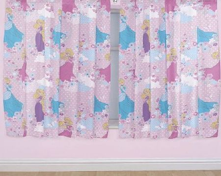Disney Princess Disney 72-inch Princess Dreams Curtains, Multi-Colour