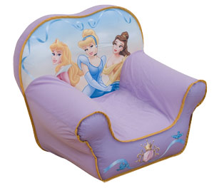 Princess Gold Throne Cosy Chair