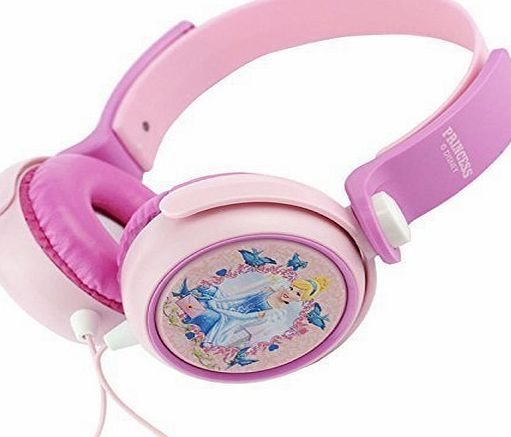 DISNEY PRINCESS HEADPHONES EAR PHONES PLUG MP3 IPOD AUDIO DJ STYLE MUSIC SOUND