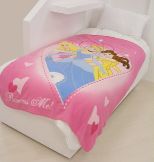 Princess `ove Heart`Small Fleece Blanket