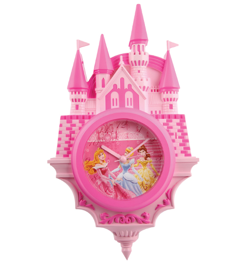 Princesses Magical Castle Wall Clock