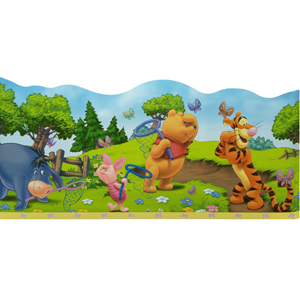 baby winnie the pooh wallpaper border. Black Bedroom Furniture Sets. Home Design Ideas