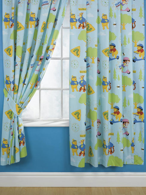 Standard Length Of Curtains Winnie the Pooh Wall Decals