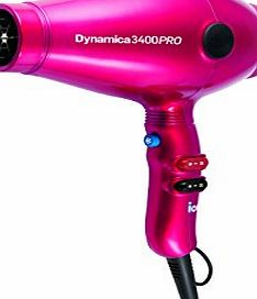 Diva Professional Styling Dynamica 3400 Pro Chromatix Hair Dryer, Raspberry Crush