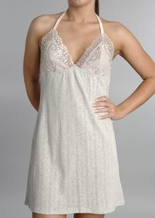 Cotton Glamour Pointelle chemise