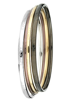 DKNY Circles 4 Tone Bangle NJ1134040