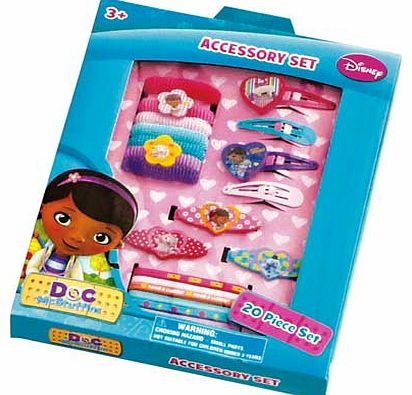 Disney Doc McStuffins Hair Accessories Set
