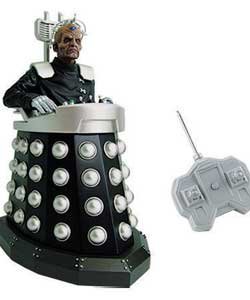 The Doctors ultimate enemy in the Series 4 finale, this 5in radio control Davros has full movement c - CLICK FOR MORE INFORMATION