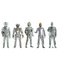 Recreate scenes from the many Cyberman episodes with these 5in poseable action figures.Each figure c - CLICK FOR MORE INFORMATION