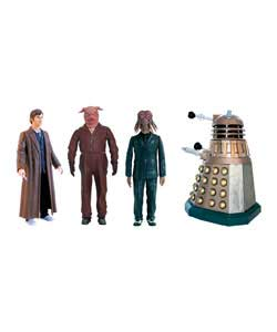 This set includes four 5in figures from the Daleks in Manhattan episode. Includes Dalek Sec Hybrid f - CLICK FOR MORE INFORMATION