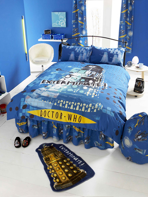 Doctor Who Double Duvet Cover And Pillowcase Upgrade