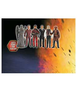 Recreate scenes from the third series of Doctor Who with these 5in poseable action figures. Styles m - CLICK FOR MORE INFORMATION