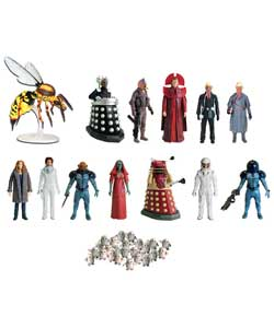 Recreate scenes from series 4 of Doctor Who with these 5in poseable action figures.Collect all 12 pa - CLICK FOR MORE INFORMATION