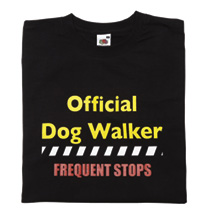 Dog Walker T-Shirt - S/M product image