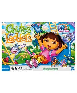 Dora the Explorer Chutes and Ladders Board Game - review, compare ...