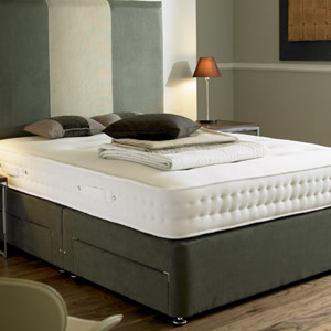 Dorlux beds dorlux executive 4ft 6 double divan bedjpg for Divan double bed with mattress sale