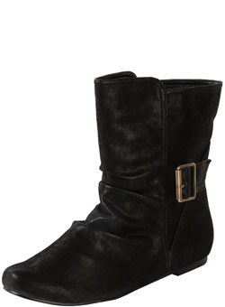 Dorothy Perkins Black flat ankle boots