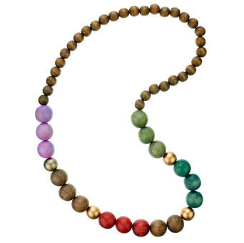 Dorothy Perkins Pastel wood rope necklace product image