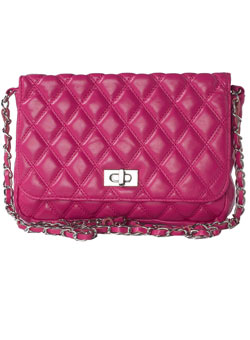 Dorothy Perkins Pink chain cross-body bag - review, compare prices