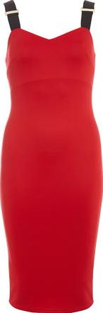 Dorothy Perkins, 1134[^]262015000711190 Womens AX Paris Red strappy midi dress- Red