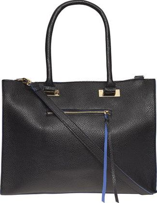 Dorothy Perkins, 1134[^]262015000711764 Womens Black and blue soft tote bag- Blue