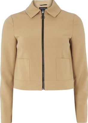 Dorothy Perkins, 1134[^]262015000709663 Womens Camel Western Jacket- White DP66830154