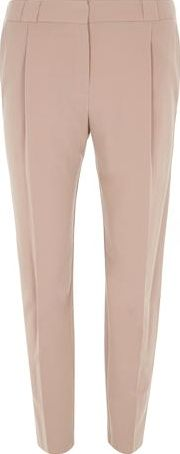 Dorothy Perkins, 1134[^]262015000705723 Womens Clay Piped Tapered Leg Trouser- Brown