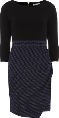 Dorothy Perkins, 1134[^]262015000706936 Womens Closet Multi Square Jacquard Dress- Multi