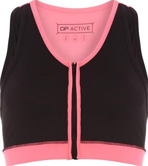 Dorothy Perkins, 1134[^]262015000695725 Womens DP Active Black Performance Sports Bra-